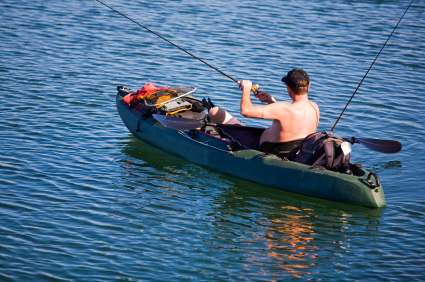 Fishing kayaks how to choose the best fishing kayak for Best canoe for fishing